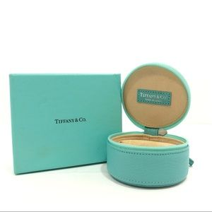 Tiffany & Co Round Jewelry Small/Travel Case